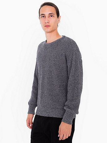 These are the comfiest sweaters ever. This would replace my rainbow stripey one. Classic pullover in a soft, cotton-knit weave. Perfect worn alone all year long, or layered for cooler months.