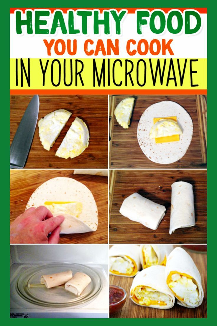 Quick Healthy Microwave Meals