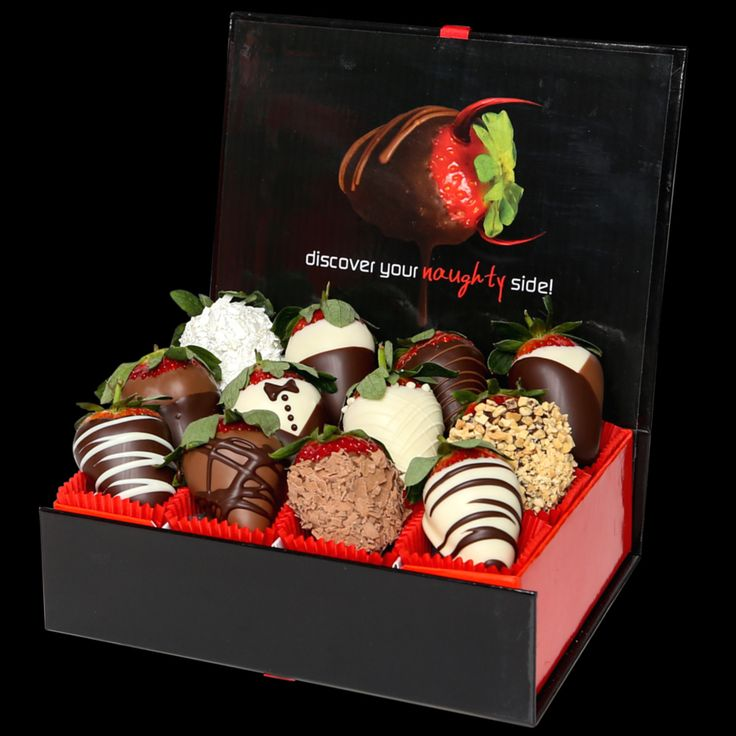 THE FAMOUS SAMPLER - our NO1 Selling gift box. One dozen fresh strawberries dipped in fine belgian chocolate. Hand dipped and piped fresh to order. We deliver these just like flowers to your door ORDER NOW http://www.wickedberries.com.au/p/Chocolate-Dipped-Strawberries/Wicked-Berries-Famous-Sampler/WBSAMP