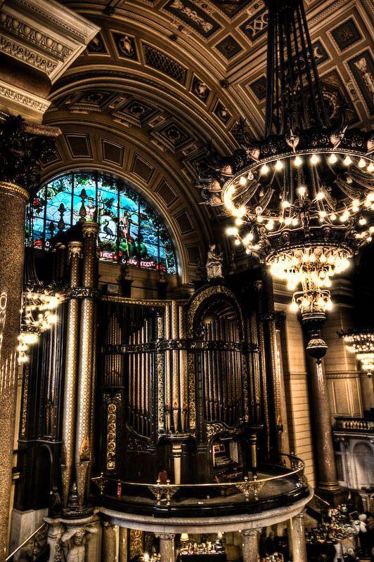 st georges hall organ