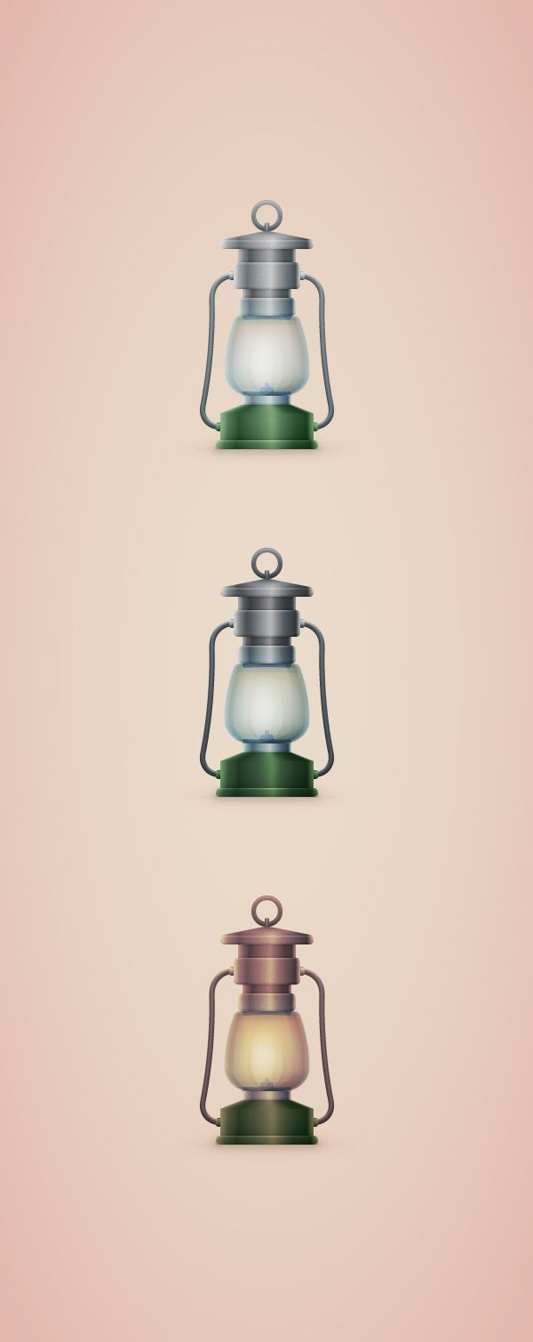 How to Create a Vintage, Camping Lantern Icon in Adobe Illustrator,