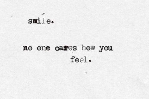No One Cares Quotes Weheartit