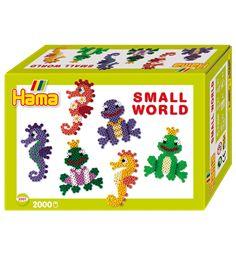 HAMA Midi Small World gaveeske sjøhest og frosk
