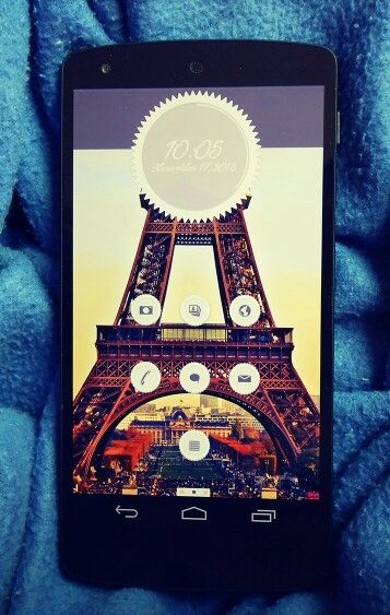 New in Themer: Paris. Get this amazing French-styled theme on your Android phone today!