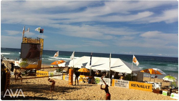 marquee for hire 6x15 clear span on the beach manly AVA PARTY HIRE Call us on 9938 5599 for a quote