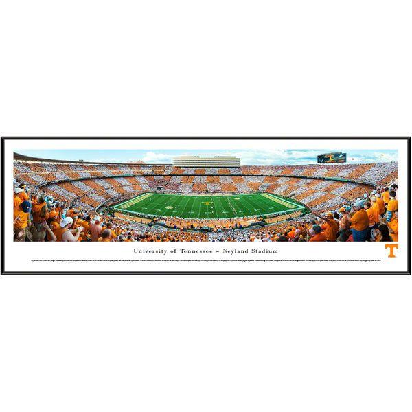 "Tennessee Volunteers 13"" x 40"" Neyland Stadium Standard Frame Panorama"