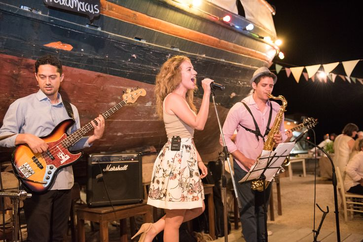 TARSANAS WEDDING PARTY-SYROS swing band old shipyard concept | lafete