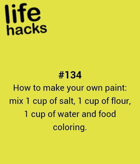 diy, how to, paint, recipe, tips, hacks, 1000 life hacks