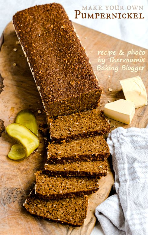 Thermomix pumpernickel bread by Sophia Handschuh