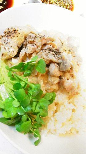 炊飯器で簡単☆シンガポールチキンライス風
