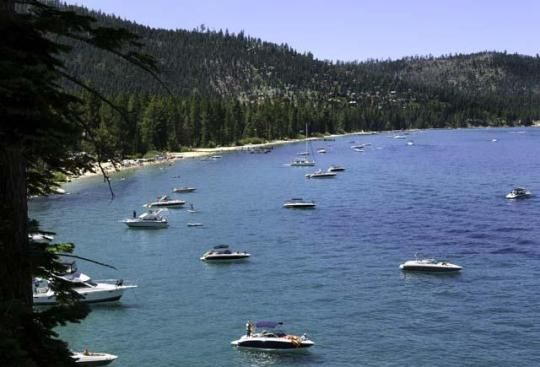 D.L. Bliss State Park borders Emerald Bay State Park to the north. It features one of the finest beaches in the Lake Tahoe region. The park also has popular hiking trails, such asA  the Lighthouse Trail and the Balancing Rock Nature Trail.