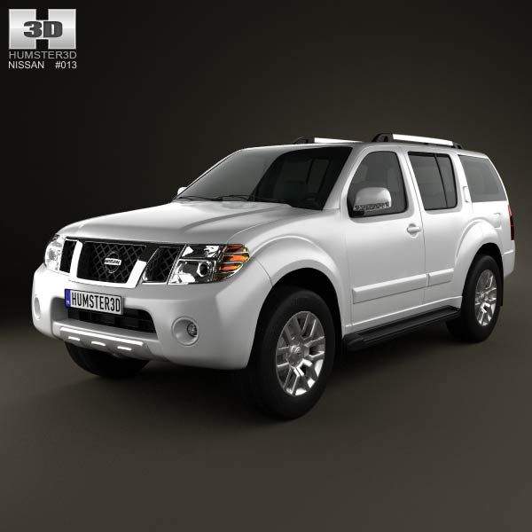 Nissan Pathfinder 2010 3d model from humster3d.com. Price: $75