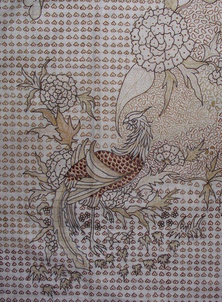 Work in-progress of Vintage Batik Kudus design reproduction
