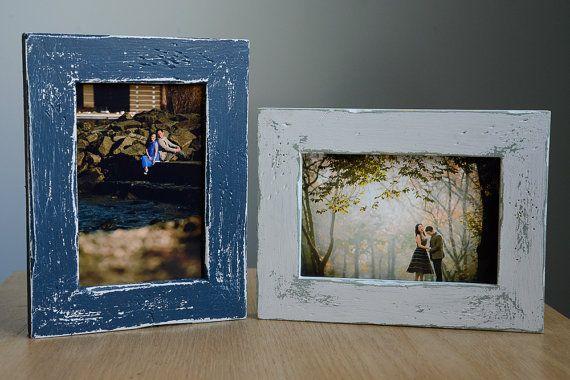 5 x 7 Bilderrahmen Frame notleidenden solide Holz 5 x 7 (mehrere Farbauswahl)