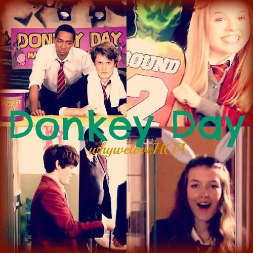 House of Anubis 20 Day Challenge--Day 8, Your Favorite Moment from Season 2...Again, another tough choice! Hmm...I have to go with the whole Donkey Day thing, because that was just hilarious and fun! Defintly an moment worth rewatching! :)