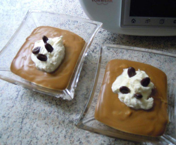 Rezept Kaffeepudding von backbaer - Rezept der Kategorie Desserts