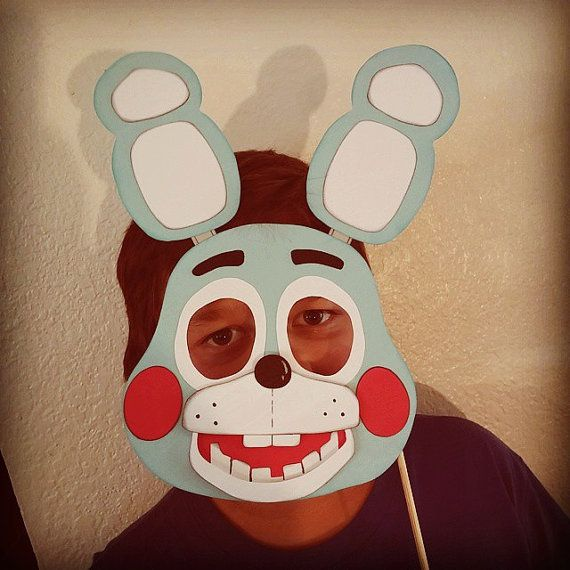 Five 5 Nights At Freddy S Toy Bonnie Mask By