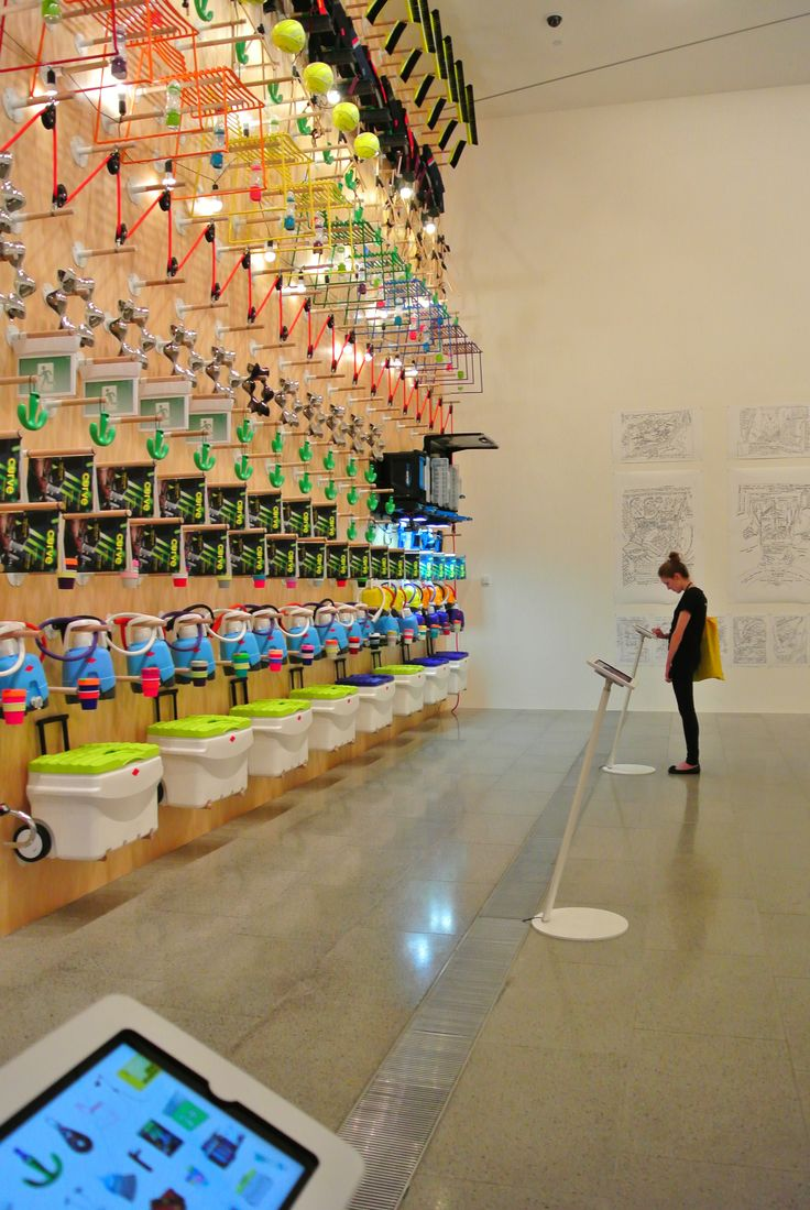 Design Wall: Design in everyday life #MelbourneNow NGV Australia curated by Simone LeAmon exhibition design CarterLeAmon
