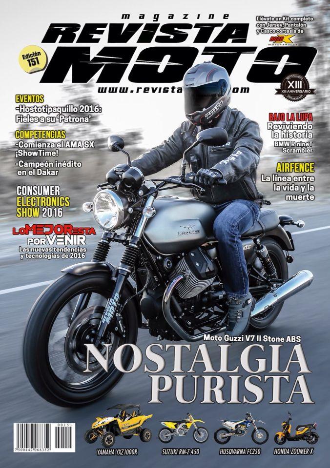 Adquiere tu Revista Moto del mes de Febrero a través de los quioscos digitales en iTunes, Google Play, Play Store, Nubbler, Blinu y Sanbors, o bien en tu puesto de revistas más cercano. www.revistamoto.com