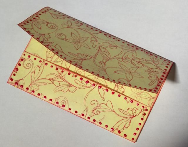 Make a Gift Card Extra Special With a Handmade Envelope (Free Template): Free Gift Card Envelope Template