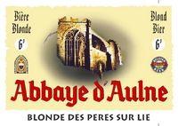 Abbaye d'Aulne Blonde des Peres sur lie Sterkte : 7 % Een lichtzoetig, fruitig blond bier.