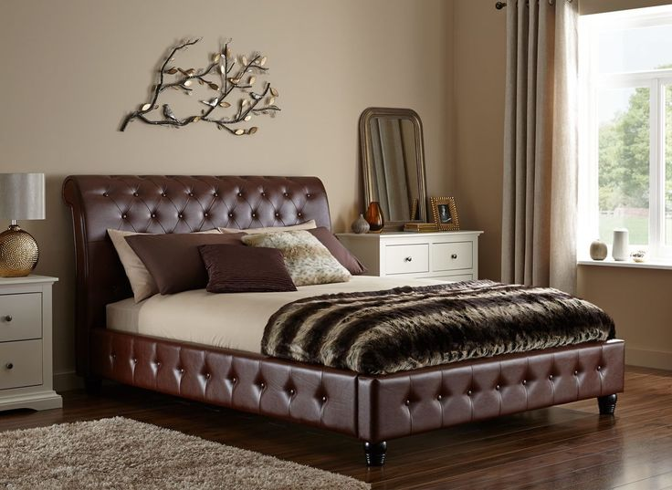 What Size Bed Should I Get the 25+ best leather bed frame ideas on pinterest | fluffy bed