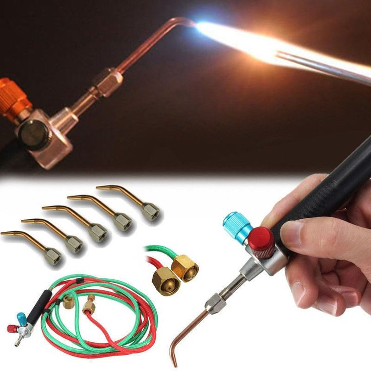 New Jewelry Jewelers Micro Mini Gas Little Torch Welding Soldering kit & 5 tips