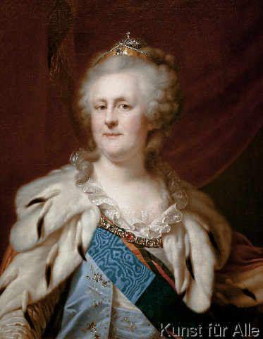 Johann Baptist Lampi - Catherine the Great / Lampi
