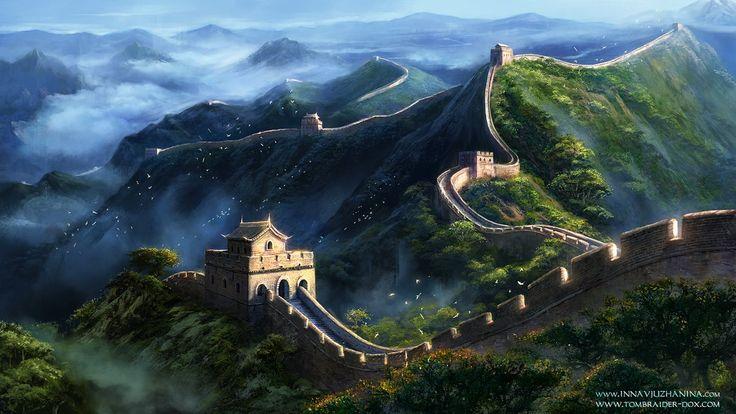 Tomb Raider II - The Great Wall of China LS by Inna-Vjuzhanina.deviantart.com on @DeviantArt