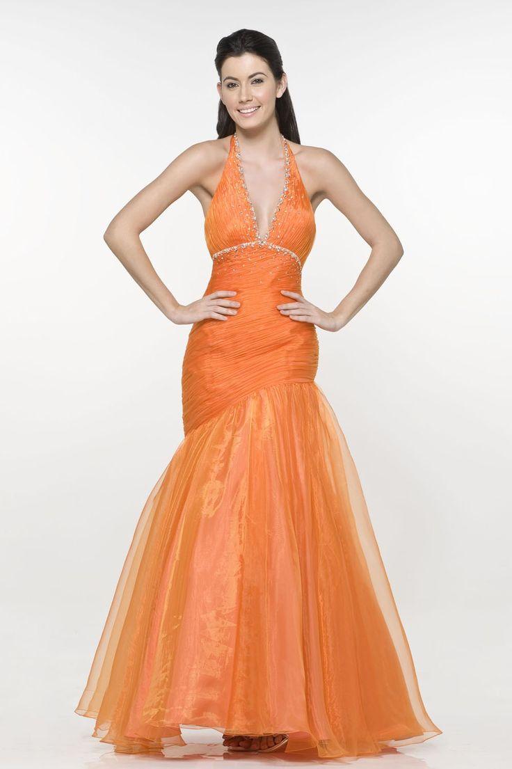 trouwjurk-oranje-a-lijn