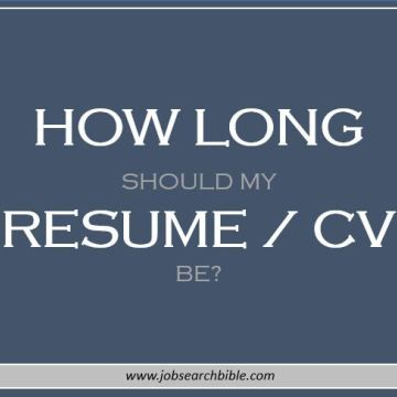 78 best Resume images on Pinterest Resume tips, Resume help and - how long should a resume be