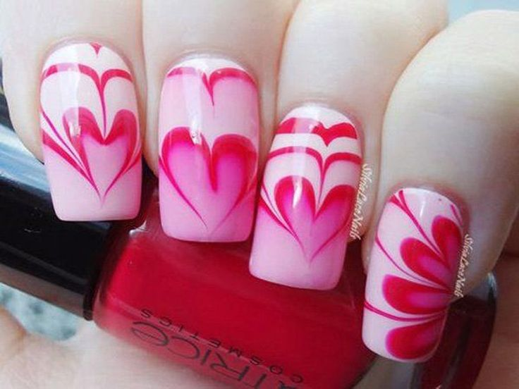 Best 25+ DIY heart nails ideas on Pinterest | DIY nails with ...