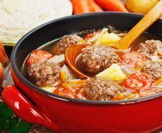 Rezept Fleischbällchensuppe von HotTomBBQ - Rezept der Kategorie Suppen