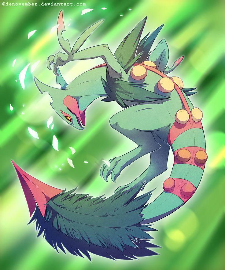 Day 11 Favorite Mega Pokemon is Mega Sceptile