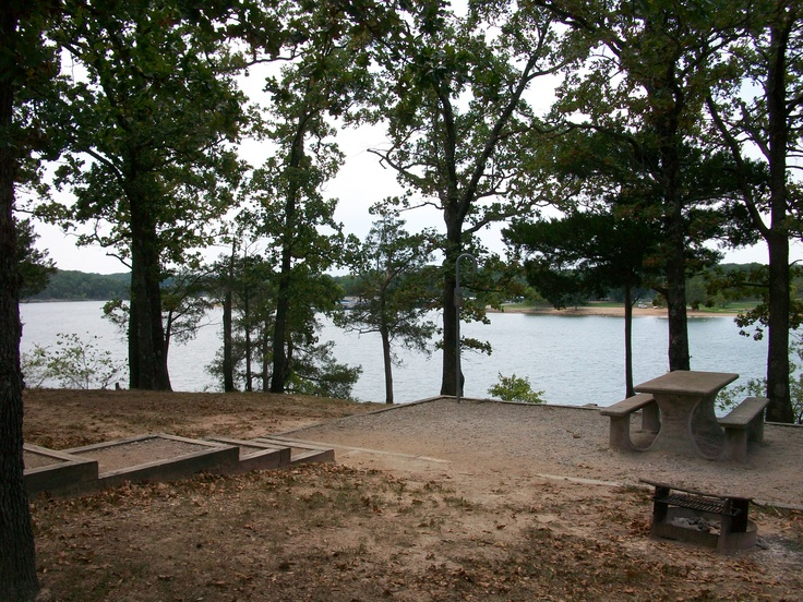 Camping At Viney Creek Park On Table Rock Lake Mo
