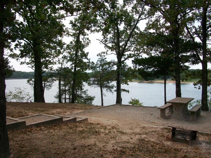 Camping At Viney Creek Park On Table Rock Lake Mo