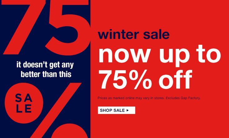 【Gap ギャップ】冬のセール!最大75%OFF!! - 個人輸入代行・転送サービス USJPshop.com Blog -