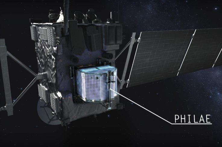 Philae Forrás/source: DLR German Aerospace Center