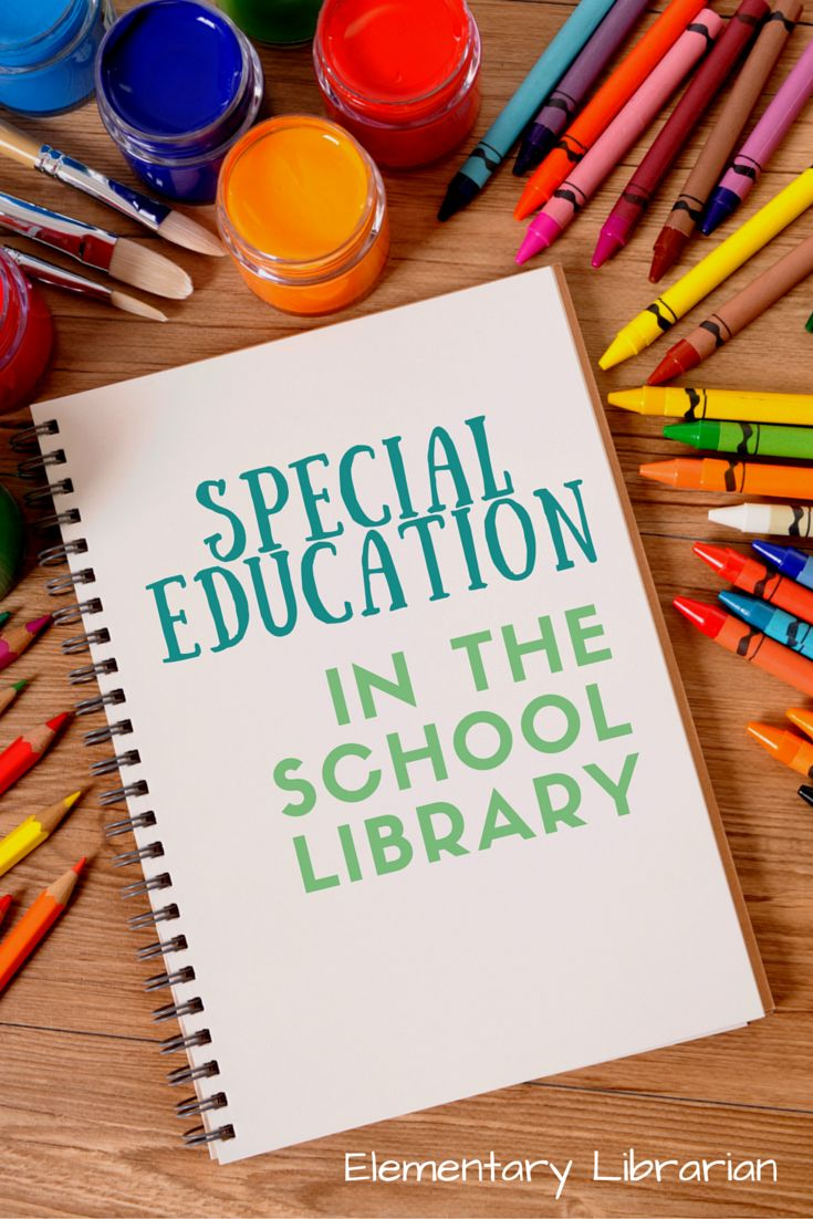Free Special Education in the School Library!!