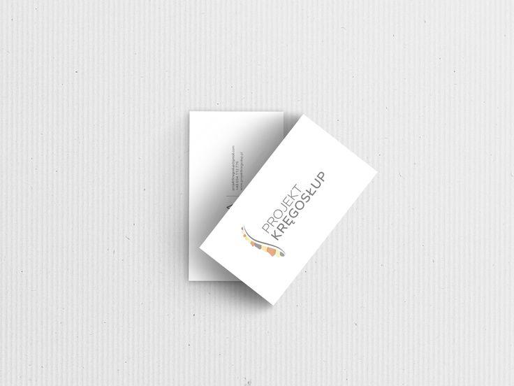 Przepis na Dizajn Wizytówka Projekt Kręgosłup 2