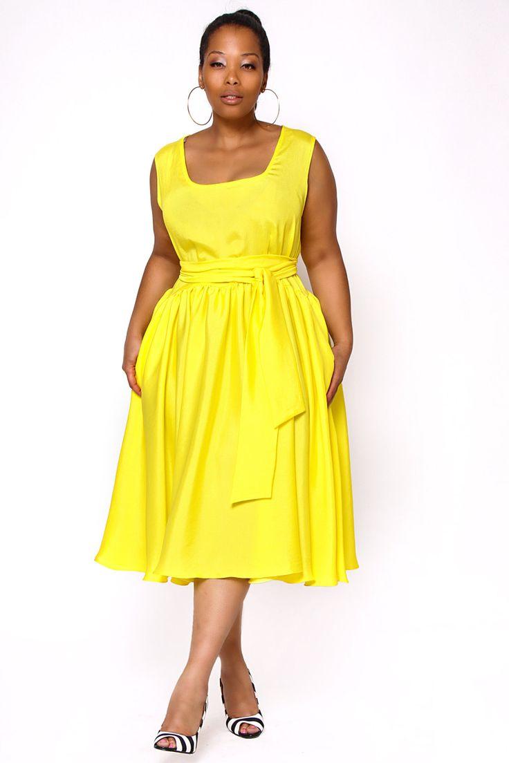 Black dress yellow sash - Jibri Plus Size Flowy Sleeveless Spring Dress By Jibrionline 230 00