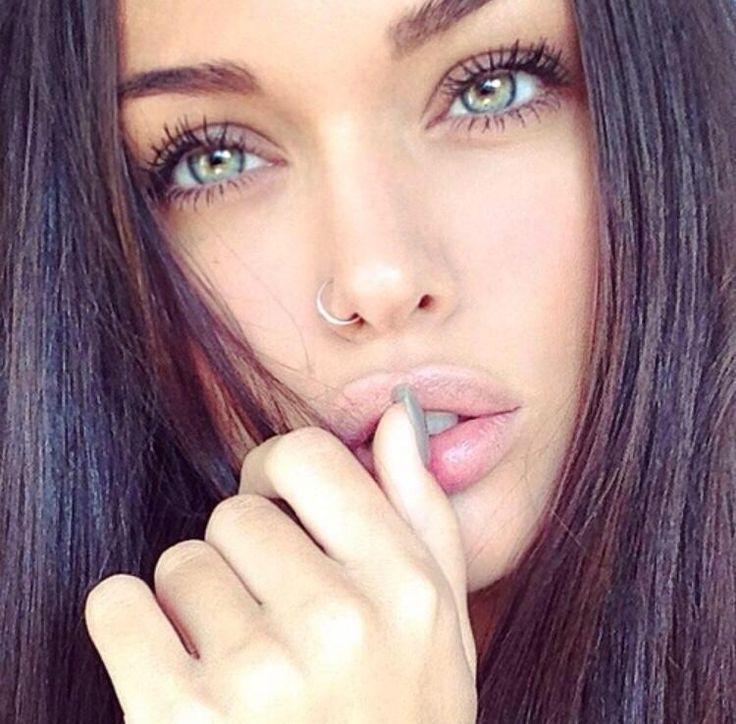 Grüne Augen Girl