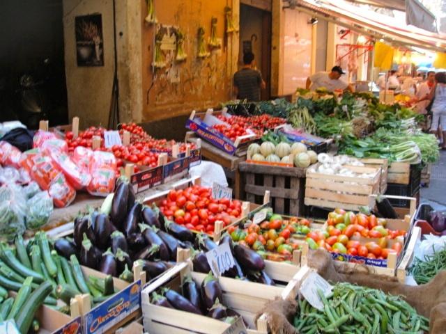 Market in Catania, Sicily  #catania