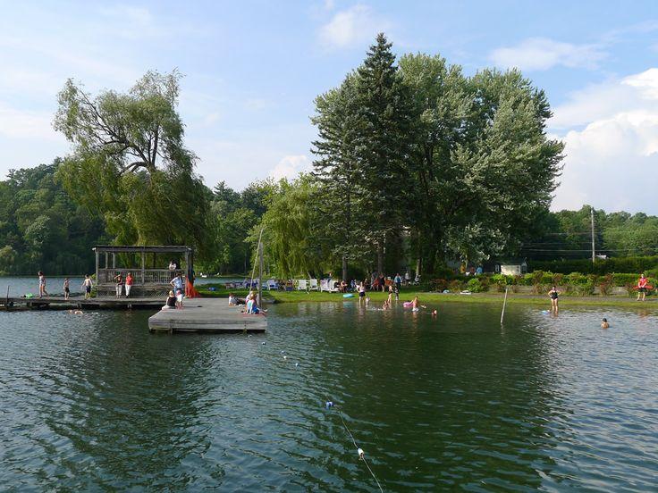 williams-lake-swimming #lake #williams