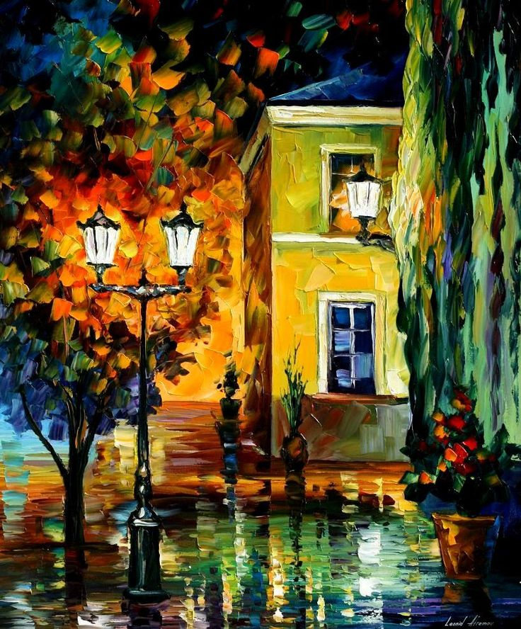 SOUTHERN NIGHT - PALETTE KNIFE Oil Painting On Canvas By Leonid Afremov http://afremov.com/SOUTHERN-NIGHT-PALETTE-KNIFE-Oil-Painting-On-Canvas-By-Leonid-Afremov-Size-36-x30.html?bid=1&partner=20921&utm_medium=/vpin&utm_campaign=v-ADD-YOUR&utm_source=s-vpin