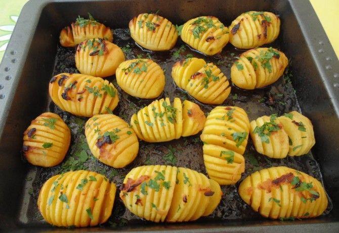 Mézes-citromos burgonyaköret