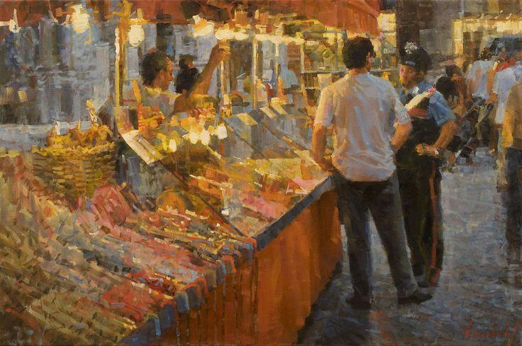 James Crandall > Candy Vendor, Via Fillungo