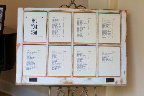 Rustic Wedding Seating Chart Ideas: Wedding, Rustic And Seating Charts