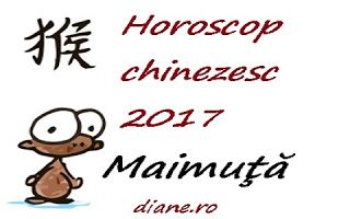 Horoscop chinezesc Maimuţă 2017