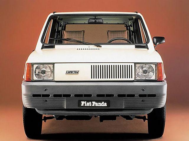 Fiat Panda - Design by Giugiaro - Assymetrical design branding
